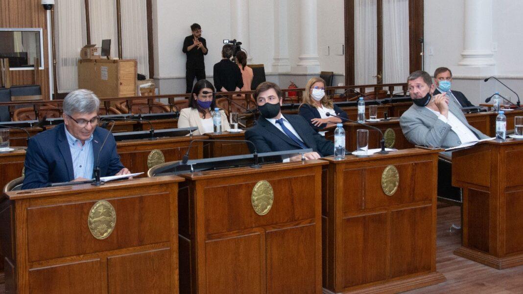 Sesión del Senado provincial del martes 15 de diciembre
